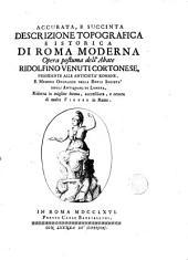 Accurata e succinta descizione topografica e istorica di Roma Moderna