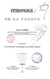 Anthropologie de la France