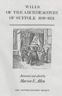 Wills of the Archdeaconry of Suffolk  1620 1624 PDF