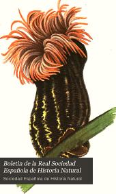 Boletin de la Real Sociedad Española de Historia Natural: Volumen 5