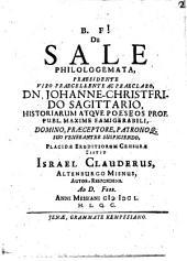 De sale philologemata