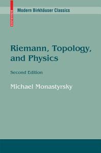 Riemann  Topology  and Physics