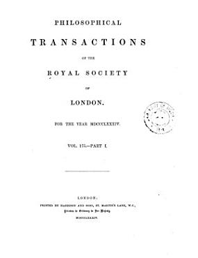 Philosophical Transactions of the Royal Society of London PDF