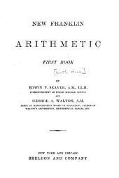 New Franklin Arithmetic: Book 1