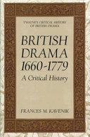 British Drama, 1660-1779