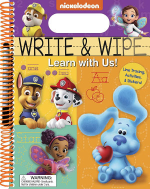 Nickelodeon  Write and Wipe  Learn with Us