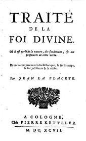 Traité de la foi divine