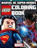 Lego Marvel DC Super Heroes Coloring Book PDF