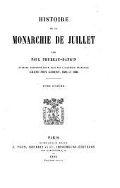 Histoire de la monarchie de juillet: Volume6