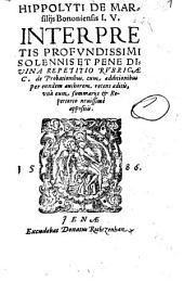 Repetitio rubricae C. de probationibus: cum Additionibus