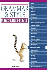 Grammar And Style At Your Fingertips PDF