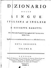 A dictionary of the English and Italian languages. By Joseph Baretti: Volume 2