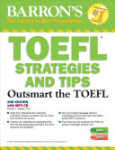 TOEFL Strategies and Tips with MP3 CDs PDF