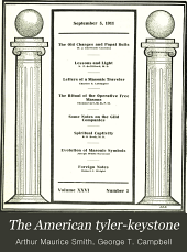 The American Tyler-keystone: Devoted to Freemasonry and Its Concerdant Others, Volume 26