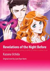 REVELATIONS OF THE NIGHT BEFORE: Mills & Boon Comics