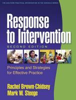 Response to Intervention  Second Edition PDF