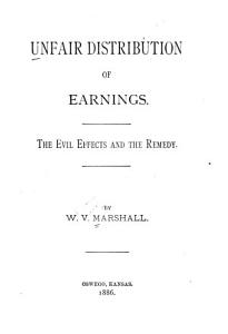 Unfair Distribution of Earnings Book