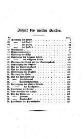 Handbuch der Technologie oder rationelle Darstellung der technischen Gewerbe: nach den neuesten Ansichten und Erfindungen : mit Steindrucktafeln, Band 2