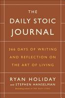 The Daily Stoic Journal PDF