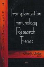 Transplantation Immunology Research Trends