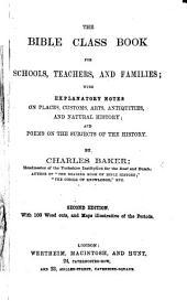 The Bible Class Book, etc