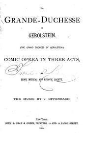 La Grande ducesse de Gerolstein PDF