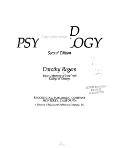 Child Psychology PDF