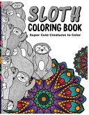 Sloth Coloring Book for Adults