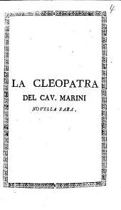 La Cleopatra ¬del ¬Cav. ¬Marini: Novella rara