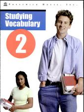 Studying Vocabulary II