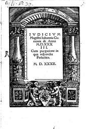 Iudicium de anno 1533