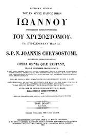 Patrologiae cursus completus. Series graeca: Volume 53, Issue 4, Part 1