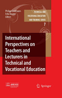 International Perspectives on Teachers and Lecturers in Technical and Vocational Education PDF