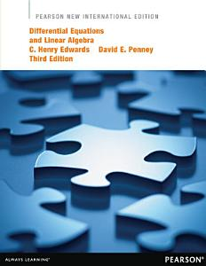 Differential Equations and Linear Algebra: Pearson New International Edition