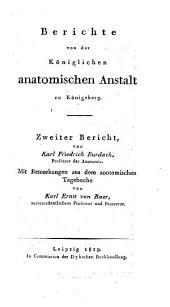 Bemerkungen aus dem zootomischen Tagebuche