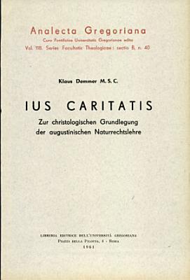 Ius caritatis PDF
