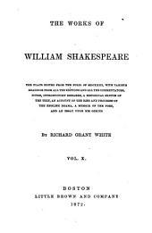 The Works of William Shakespeare: Volume 10