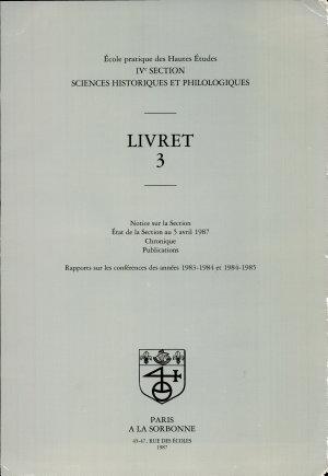 Sciences Historiques et Philologiques PDF