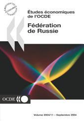 Études économiques de l'OCDE : Fédération de Russie 2004