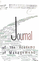 The Journal of the Academy of Management PDF