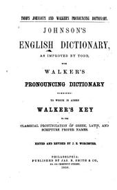 Johnson's English Dictionary ...