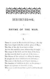 Beechenbrook: A Rhyme of the War