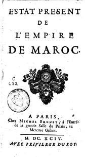 Estat présent de l'empire de Maroc
