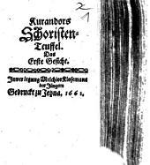 Kuranders Schriften-Teuffel Das erste und ander Gesicht