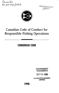 Canadian Code of Conduct for Responsible Fishing Operations