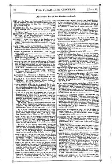 Publisher s Circular and Book Seller s Record PDF