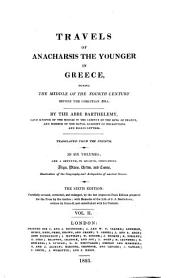 Travels of Anacharsis the Younger in Greece: During the Middle of the Fourth Century Before the Christian Aera, Volume 2