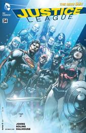 Justice League (2011-) #34