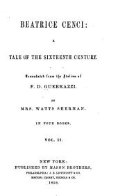 Beatrice Cenci: A tale of the sixteenth century: Volume 2