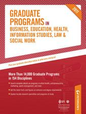 Peterson's Graduate Programs in Social Work 2011: Section 44 of 44, Edition 45